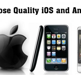 Golden Steps to Choose Quality iOS and Android Apps Services